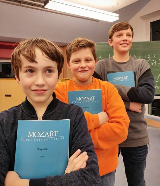 Mozart, here we come
